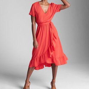 GAP hula red dress